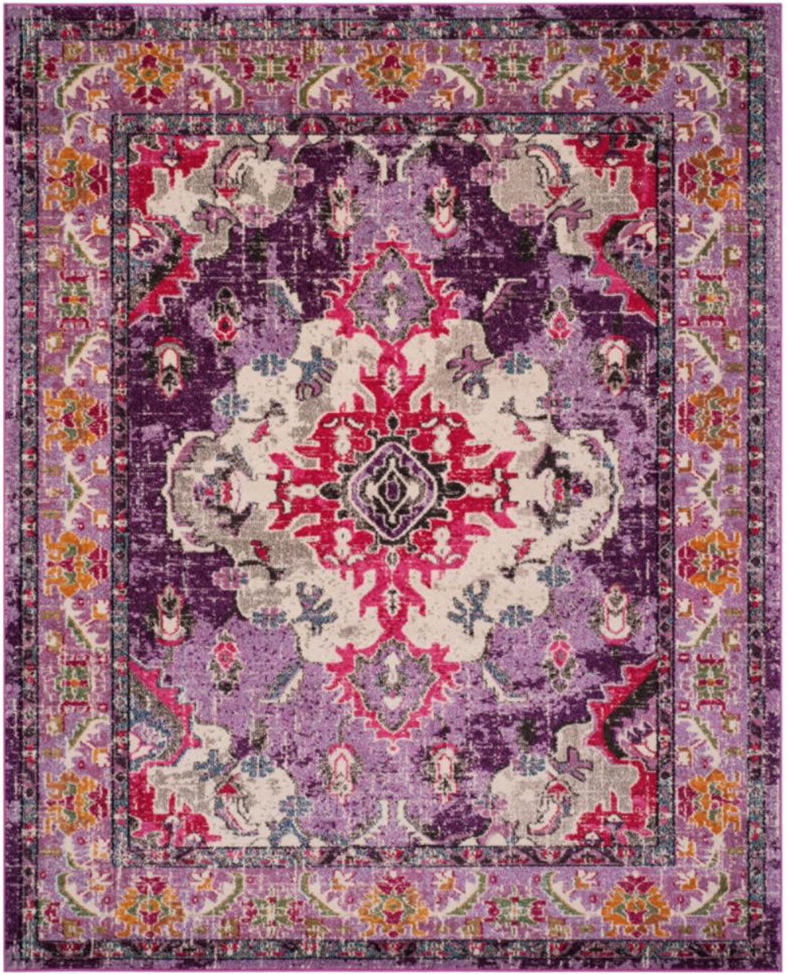 what goes with this, purple, rug, persian, interior design, interior decorating, family room, living room, colorful, multicolor