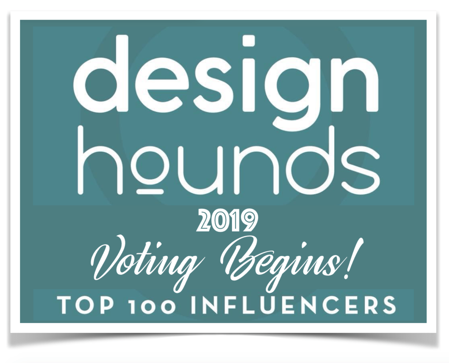 Design Hounds, Modenus, Christine Kohut Interiors, #designninja, Top 100 Influencers, Vote