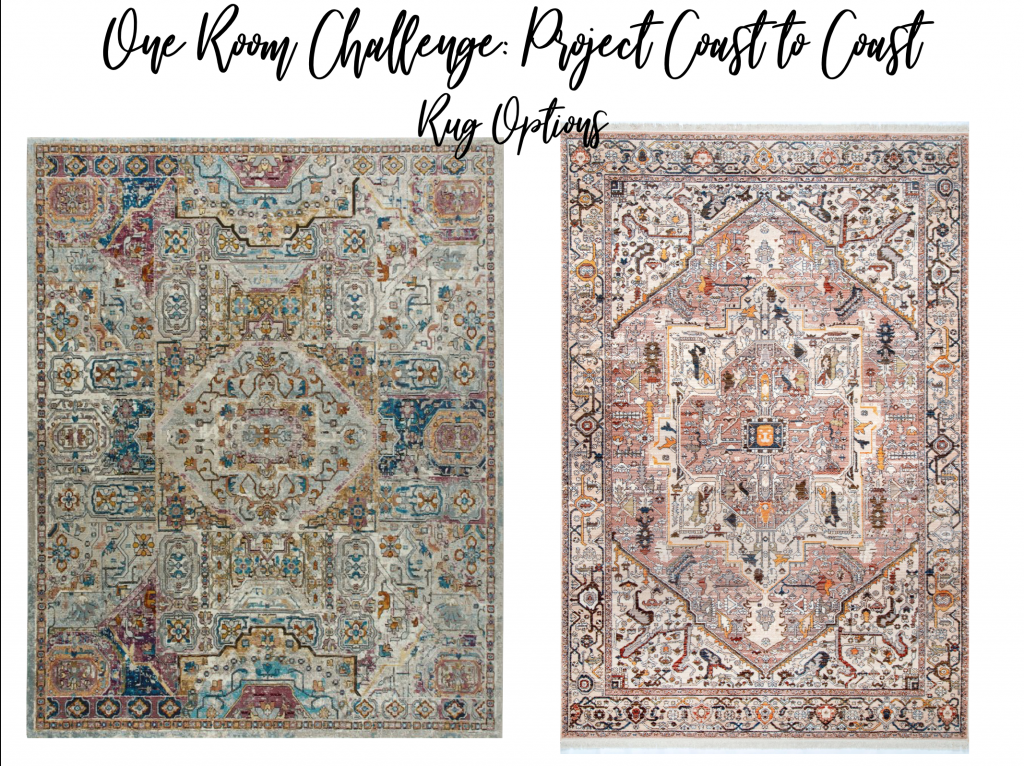 rug options, guest bedroom, area rug, colorful rug, nicole miller, Christine Kohut Interiors, designninja, one room challenge, project coast to coast, better homes and gardens, losing my mind