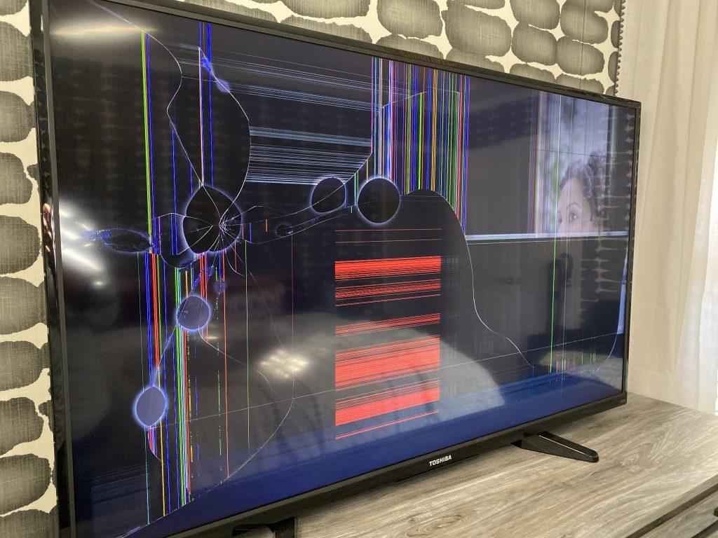 Christine Kohut Interiors, design ninja, #designninja, #ckdesignninja, ORC, one room challenge, better homes and gardens, design blog, bedroom makeover, guest bedroom ideas, TV, Toshiba, smart tv, tv screen, amazon prime