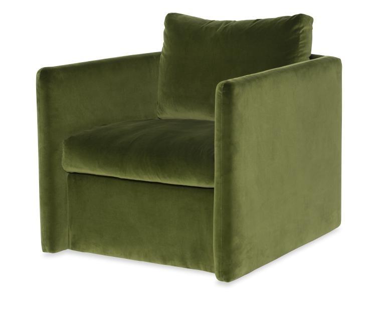 green velvet swivel chair, Christine Kohut Interiors, #ckprojectcoasttocoast, highland house, chairish, losing my mind