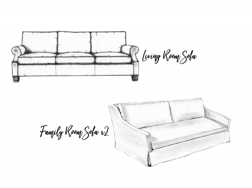 Christine Kohut Interiors, #ckprojectcoasttocoast, sofas, custom made furniture, losing my mind